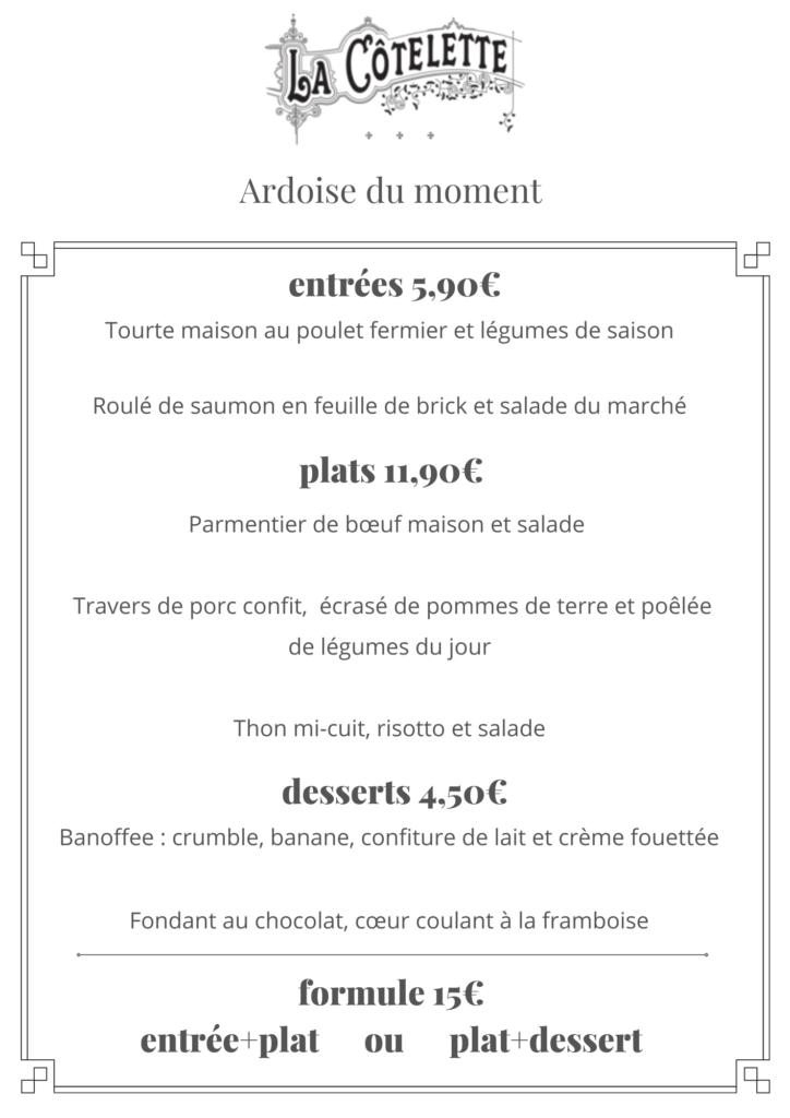 Restaurant Cotelette Grenoble à emporter